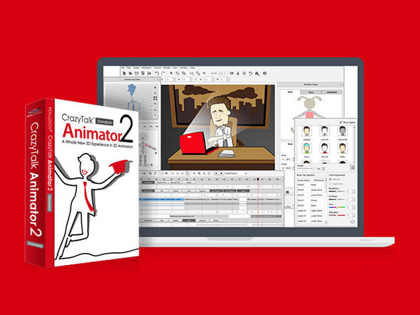 CrazyTalk Animator 2 Standard & Complete Training Bundle
