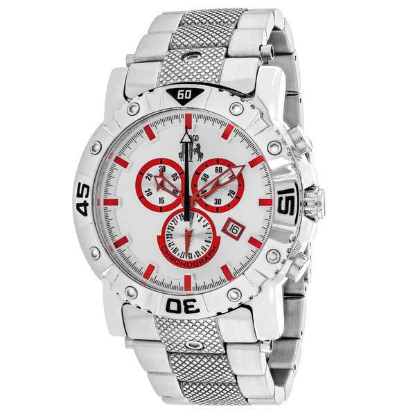 Jivago Men's Titan Silver Dial Watch - JV9128XL