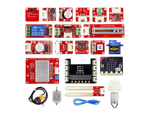 Crowtail Starter Kit For Micro: bit 2.0