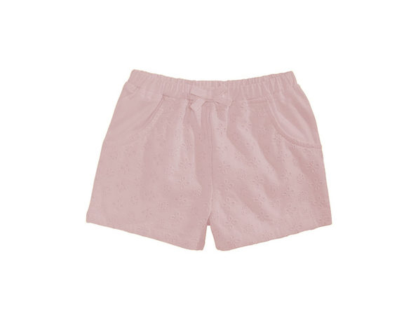 First Impressions Baby Girls Eyelet Shorts Pink Size 24 Months