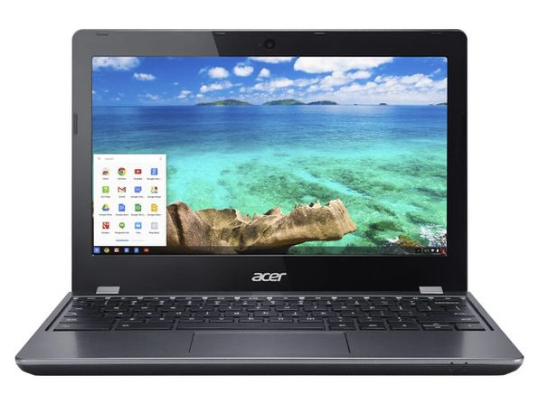 "Acer Chromebook C740-C4PE 11"" Laptop, 1.6GHz Intel Celeron, 4GB RAM, 16GB SSD, Chrome, 11"" Screen (Renewed)"