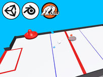 Learn to Code by Making an Air Hockey Game in Unity - Product Image