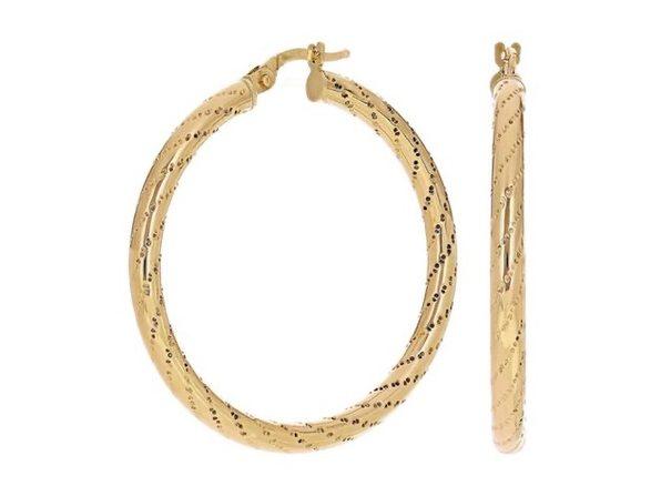 Christian Van Sant Italian 14k Yellow Gold Earrings CVE9LRX - Product Image
