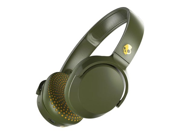 Skullcandy Riff Wireless™ On-Ear Headphones (Olive)