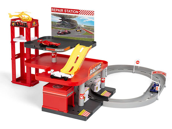 29-Piece Speedway Racing & Stop Station Playset