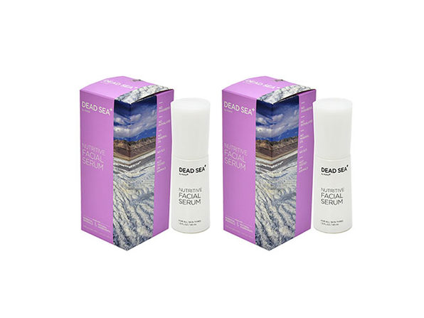Dead Sea+: Nutritive Facial Serum - 2 pack - Product Image