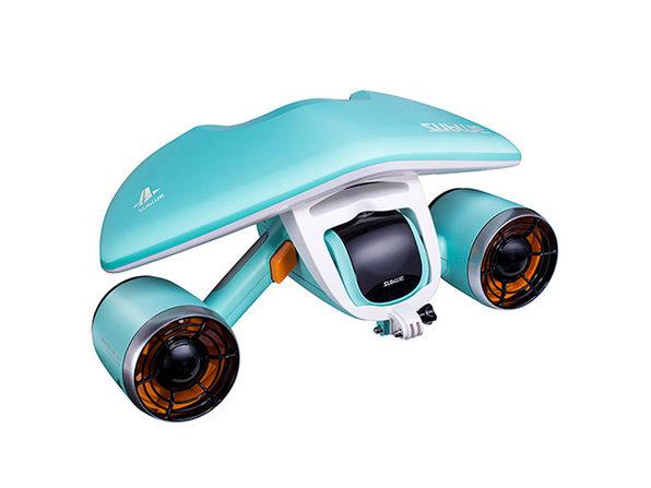 Whiteshark Mix Underwater Scooter (Aqua Blue)
