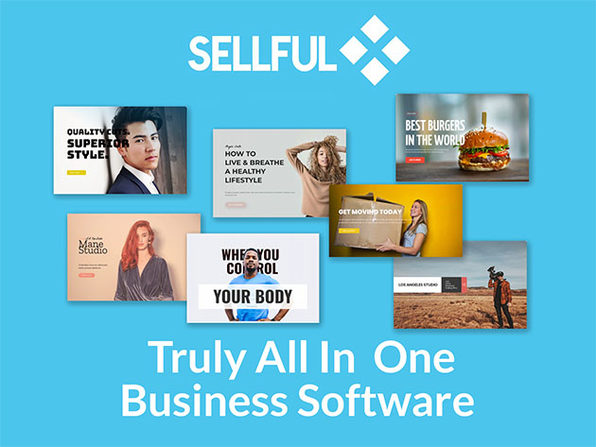 Sellful All-in-One Business Software: Small Business Agency Plan (Lifetime)