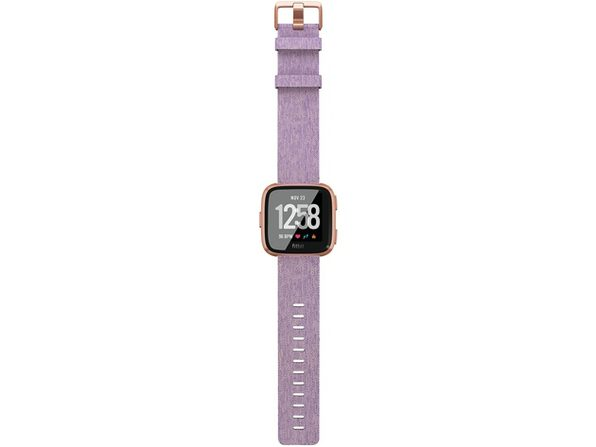 New Fitbit Versa Special Edition Health n Fitness Smartwatch in Lavender