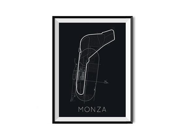 Full-Throttle Formula 1 Monza Poster