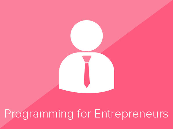 Programming in JavaScript for Entrepreneurs - Product Image