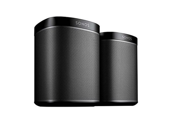 Sonos Play:1 BPLY1US1BLKHB Wireless 2-Room Streaming Music Starter Set Bundle - Black (Like New, Damaged Retail Box)