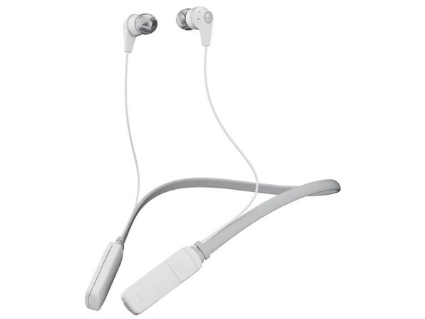 Skullcandy Ink'd® Wireless Earbuds (White/Gray) - Product Image