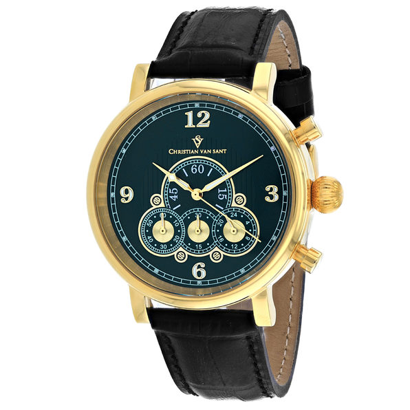 Christian Van Sant Men's Green Dial Watch - CV0714