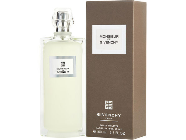 MONSIEUR GIVENCHY by Givenchy EDT SPRAY 3.3 OZ (NEW PACKAGING) for MEN ---(Package Of 4)