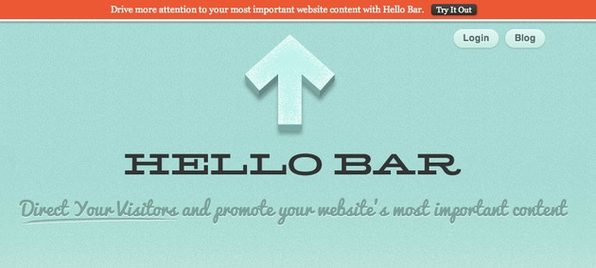 Hello Bar - Product Image
