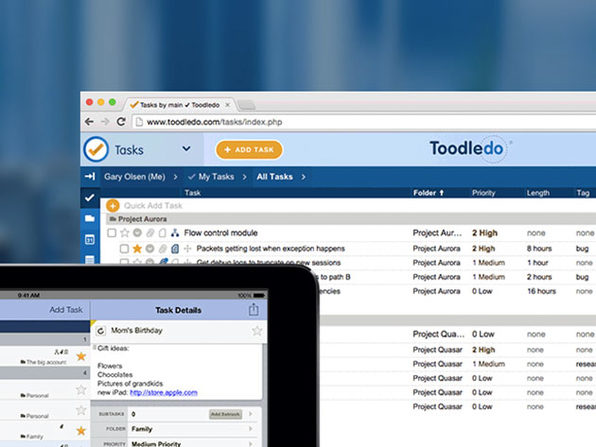 Toodledo Plus Online Task Manager: 5-Yr Subscription
