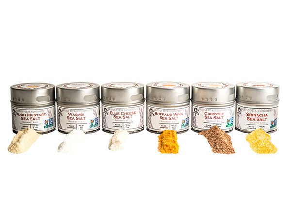 Gustus Vitae Spice and Salt Collections