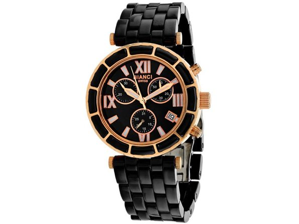 Roberto Bianci Women's Galeria Black MOP Dial Watch - RB26801