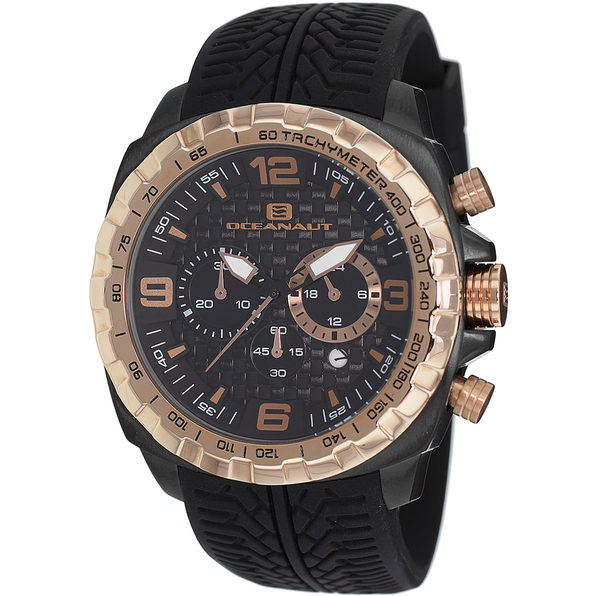Oceanaut Men's Racer Black Dial Watch - OC1121 - Product Image