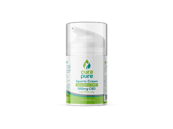 Curapure 500mg CBD Sports Cream