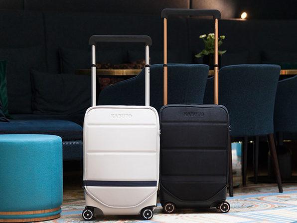 Kabuto 4-Wheeled Smart Carry-On Luggage