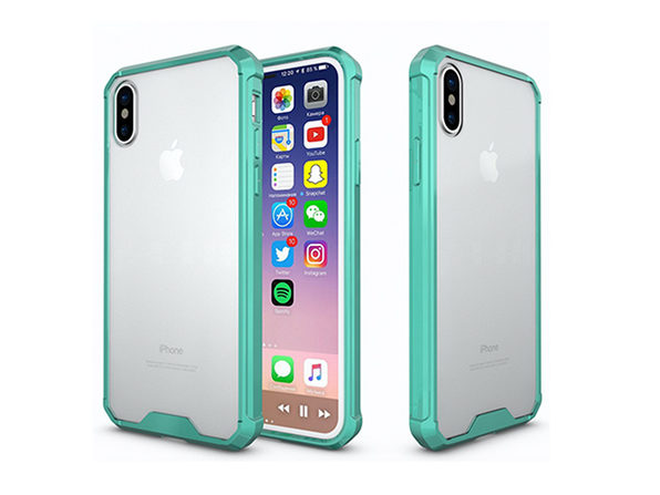 iPhone X Hybrid Case (Blue)