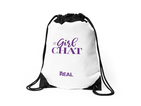 The Real Shop Drawstring Bag
