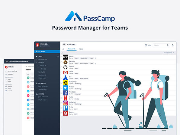 PassCamp Password Manager: 1-Yr Subscription
