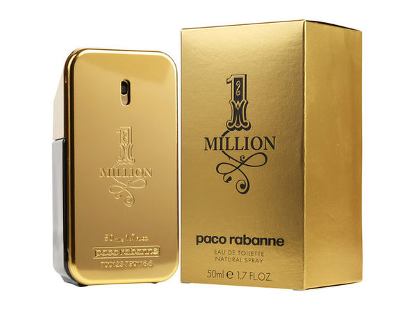 PACO RABANNE 1 MILLION by Paco Rabanne EDT SPRAY 1.7 OZ 100% Authentic