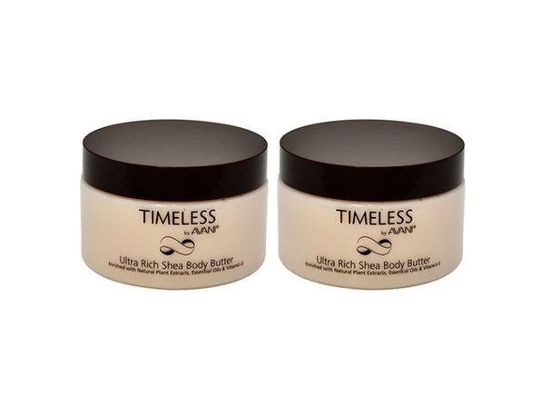 Timeless by AVANI: Timeless by AVANI Ultra Rich Shea Body Butter - 2 pack - Product Image