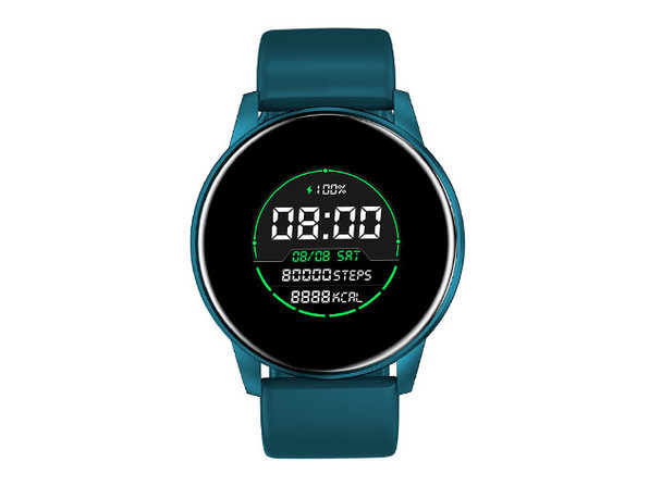 ChronoWatch Round Smart Watch (Blue)