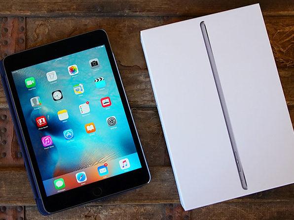 """Apple iPad Mini 4 7.9"""" 16GB Wi-Fi Space Gray (Certified Refurbished)"""