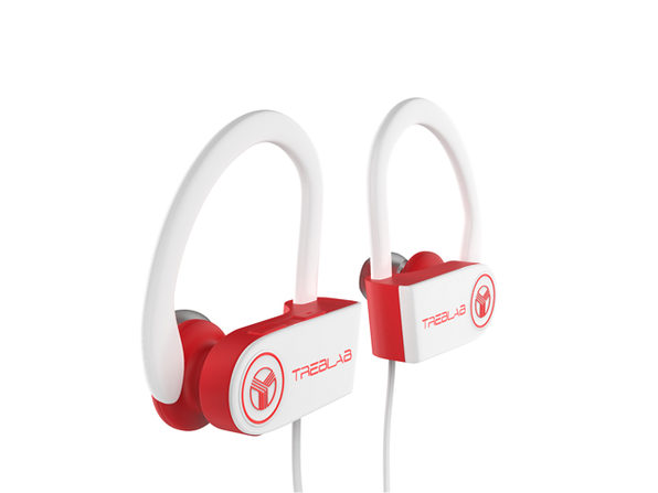 XR100 Bluetooth Sport Headphones - White - Product Image