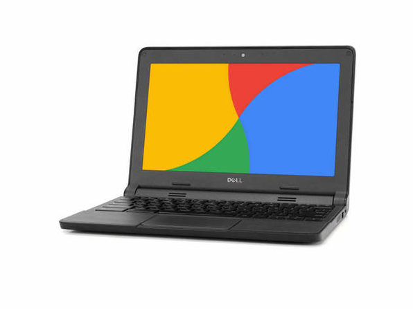 "Dell 3120 11"" Chromebook, 1.4GHz Intel Celeron, 2GB RAM, 16GB SSD, Chrome (Renewed)"