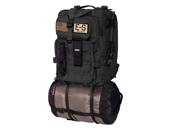 Bug Out Bag Complete Emergency Kit with KN95 Mask