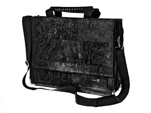 Earth Cork Tondela Briefcase (Black)