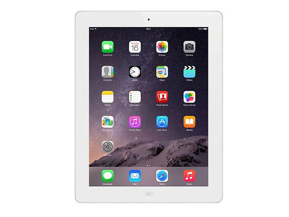 "Apple iPad 4 9.7"" 32GB - White (Certified Refurbished) Bundle"
