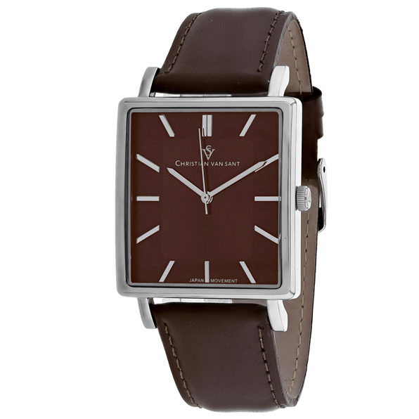 Christian Van Sant Men's Ace Brown Dial Watch - CV0434 - Product Image