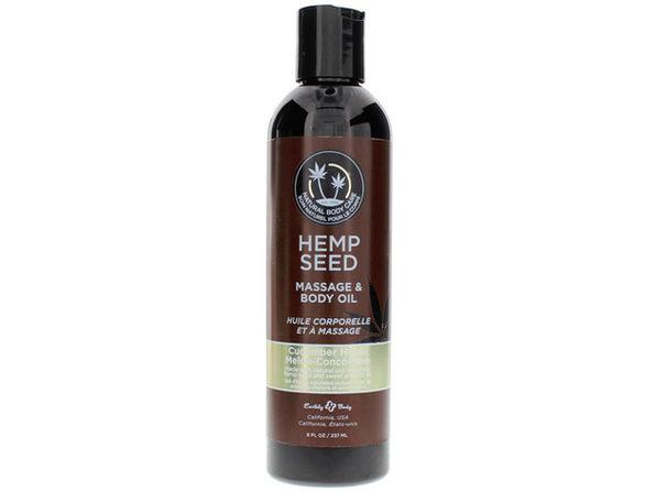 EB Massage Oil Cucumber-Melon 8oz - Product Image