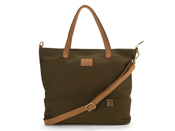 Canvas Travel Bag in Olive