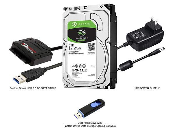 Seagate BarraCuda Internal HDD Upgrade Kit (8TB)