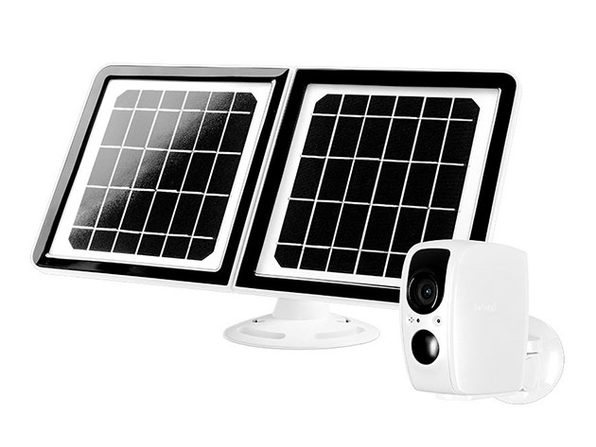Lynx Solar Weatherproof Outdoor 1080p Wi-Fi Surveillance Camera