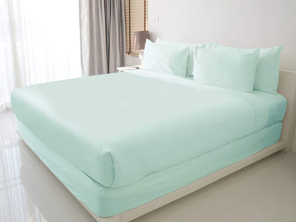 100% Egyptian Cotton Sheet Set (Aqua)