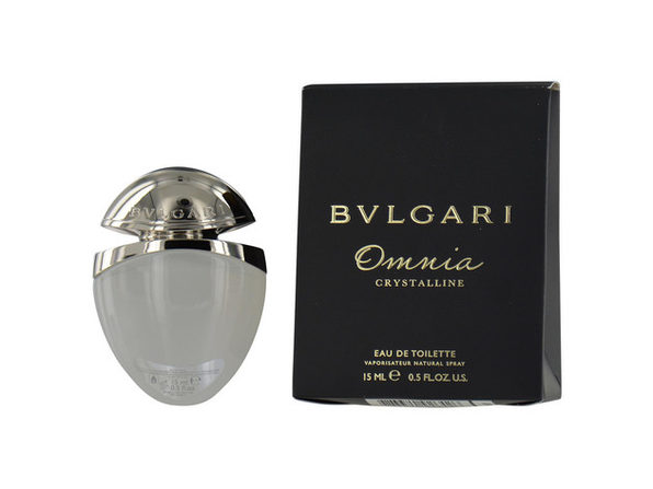 BVLGARI OMNIA CRYSTALLINE by Bvlgari EDT SPRAY .5 OZ for WOMEN ---(Package Of 2) - Product Image