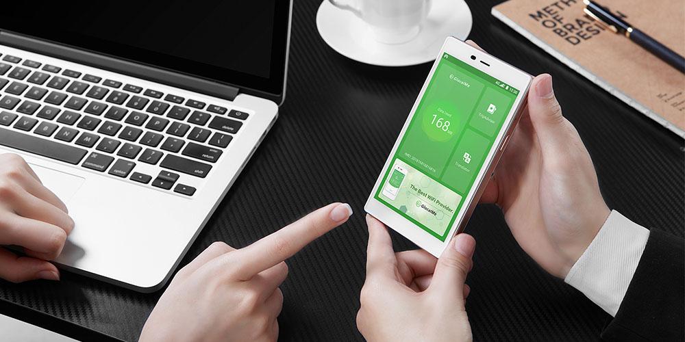 GlocalMe G4 Pro LTE Mobile Hotspot with 9GB Data