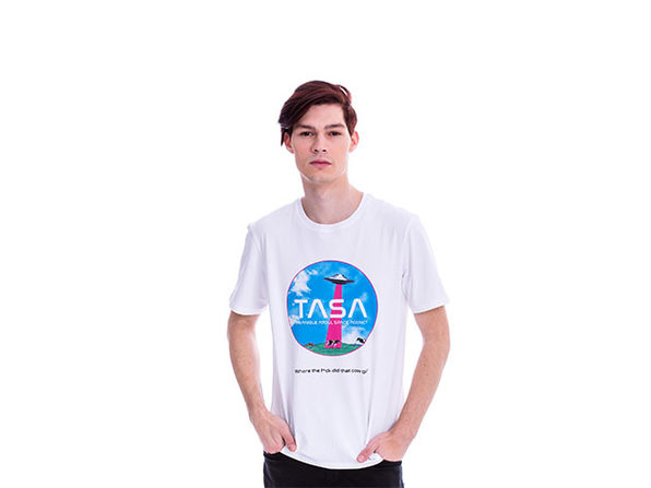 Animated TASA White T-Shirt (L)