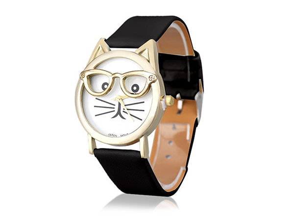 The Purr-Fect Watch (Black)