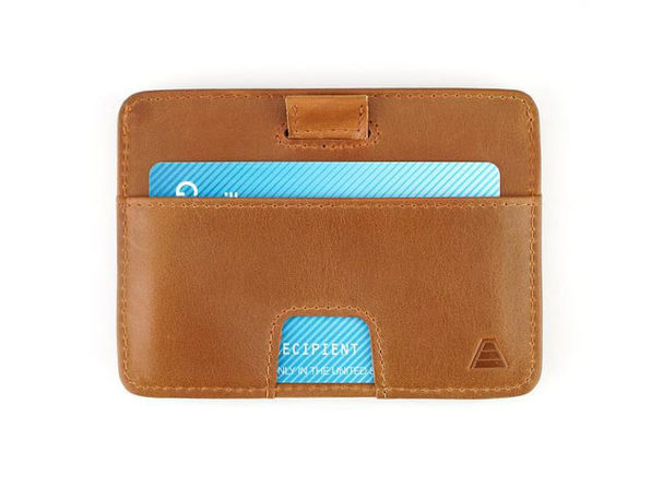 The Turner: Slim Leather Wallet