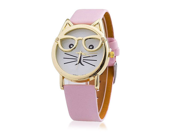 The Purr-Fect Watch - Pink - Product Image